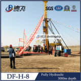 Plein de sol hydraulique machine de forage et de l'age
