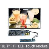 10.1 pulgadas LCD SKD Módulo con panel táctil resistiva de 4 hilos
