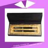 セットKp036のボールペンが付いている金属のゲルのペン
