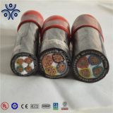 Алюминиевый проводник стальная проволока бронированных полихлорвиниловая оболочка подземный кабель питания 0.6/1кв 1,5 мм2 2,5 мм2 4 мм2 6 мм2 10мм2