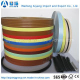 PVC de bordure foncée des graines en bois ou de couleur solide pour des meubles