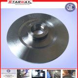 Glissade en acier de plaque de joint en métal de collet inoxidable de soudure de précision en fonction