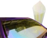 Alta pellicola blu protettiva solare 75% riflettente della tinta dell'automobile di vetro di finestra