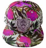 El patrón de la impresión de gran tamaño tapa Snapback Hat