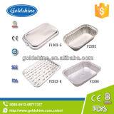 Restaurant l'utilisation Pan d'aluminium à usage unique