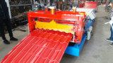 Лист плитки толя металла застекленный сталью формировать делающ машину