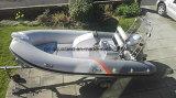 Aqualand 14pies 4. M bote inflable rígido/barco pesquero de fibra de vidrio (RIB420A)