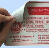 Membrana del cloruro di polivinile (PVC) con lo strato impermeabile