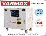 Yarmax с водяным охлаждением воздуха Super Silent портативный дизельный генератор 5.5kVA Ym7000t