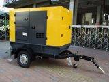 Gruppo elettrogeno diesel mobile insonorizzato 300kw con il rimorchio - marca di Weichai