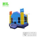 子供のためのピンクそして青い弾力がある城の膨脹可能な警備員