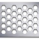Tôle perforée de haute qualité/métal perforé pour (plafond/décoration de filtration/grilles/de/l'isolation acoustique)