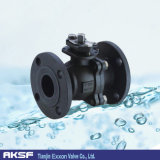 Thress Pieces Type Carbon Iron 또는 Cast Steel Ball Valve
