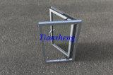 Fenêtre vitrée / vitre en aluminium de qualité supérieure en aluminium