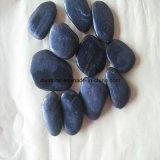 Камень камушка верхней черноты камня высокого качества Polished