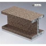 La pietra/marmo gradice il comitato di alluminio per il rivestimento della parete divisoria