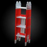 Ladder van de Combinatie van de glasvezel de Telescopische Vouwende Gezamenlijke