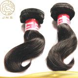100%年の毛の拡張ブラジルの未加工人間の毛髪