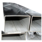 도매 201 304 316 둥근 정연한 직사각형 스테인리스 관