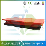 Scissor China kundenspezifische örtlich festgelegte hydraulische 3ton elektrischen Aufzug-Tisch