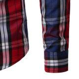 Camicia di vestito casuale dalla banda degli uomini su ordinazione all'ingrosso (A425)