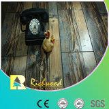 12,3mm E1 HDF AC4 Lado raspadas piso laminado com ranhuras em V