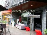 ¡Manera! Impermeabilizar y calentador del anuncio publicitario del calentador del cuarzo de Dustwroof