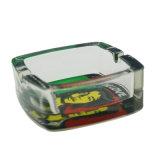 Vidrio transparente de buena calidad por mal camino con el patrón de Jamaica