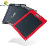 8W carregador solar flexível de filme fino de papel (SP-08)
