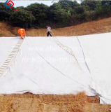 Résistance élevée de fibres discontinues de géotextile PP 100g/m²