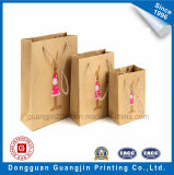 Haute Qualité Kraft Paper Bag Panier avec poignée