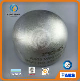 ajustage de précision de pipe de chapeau de l'acier inoxydable 304/304L avec ISO9001 : 2008 (KT0031)