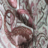 100% Tissu de teinte de soie ordinaire