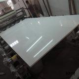 Blanc pur Aritificial Quartz dalle de pierres synthétiques ou artificielles