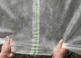 100 % PP tissu non tissé vierge Frost couvrir avec 3 % de résister aux UV