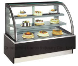 Marmor-oder Edelstahl-Unterseiten-Kuchen-Kühlraum für Kaffee-Pizza