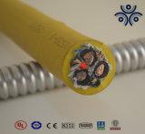 ゴム製タイプ41 35X3+6X2+16X1 Ecc黄色い鉱山ケーブル