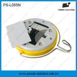 유연한 사용 500mAh 건전지를 가진 태양 운동 측정기 램프
