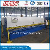 Maschinen-/Plattenausschnittmaschine der hydraulischen Guillotine QC11Y-10X6000 scherende