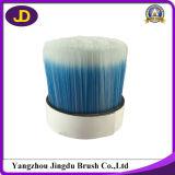 Filamento affusolato solido blu del pennello della miscela bianca