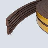 Guarnizioni di gomma del portello di legno con adesivo