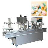 Máquina de relleno del lacre de la venta Wanhe-6 de la taza automática caliente del agua (CE)