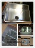 Wanne, einzelne Filterglocke-handgemachte Wanne, nullradius-handgemachte Edelstahl-Wanne Hmss2218