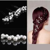 5PCS simuleer het Bruids Haar van het Huwelijk van de Kapsels van de Haarspelden van de Parel