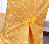 Coperchio Wedding della presidenza dello Spandex del poliestere di banchetto