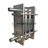 Acero inoxidable cambiador higiénico/de calor de la placa de Sanitary//Pasteurization