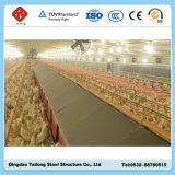 鉄骨フレームの構造の養鶏場の家禽は収容する