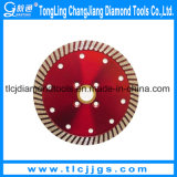 Hot Pressed Super Thin Saw Blade pour la coupe de Hard Rock