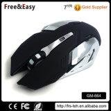 快適な人間工学的USBは光学2400ワイヤーで縛られた賭博マウスをワイヤーで縛った
