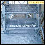 Heißes BAD galvanisierte Metallim freienc$treppe-treppe Schritte